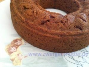 Gâteau à base de farine de riz, les carottes et les graines de lin