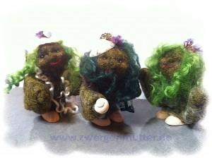 Moorwesen grünes Haar