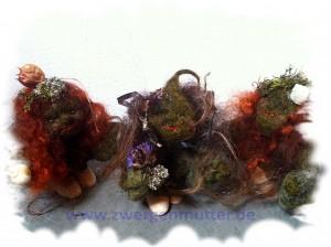 Moorwesen rotes Haar