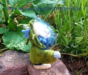 Kornblumen-Elfling für Freund von Jasmine Hartl