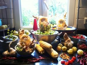 Oktober in der Küche