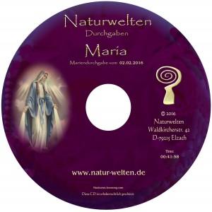 Maria CD 2016