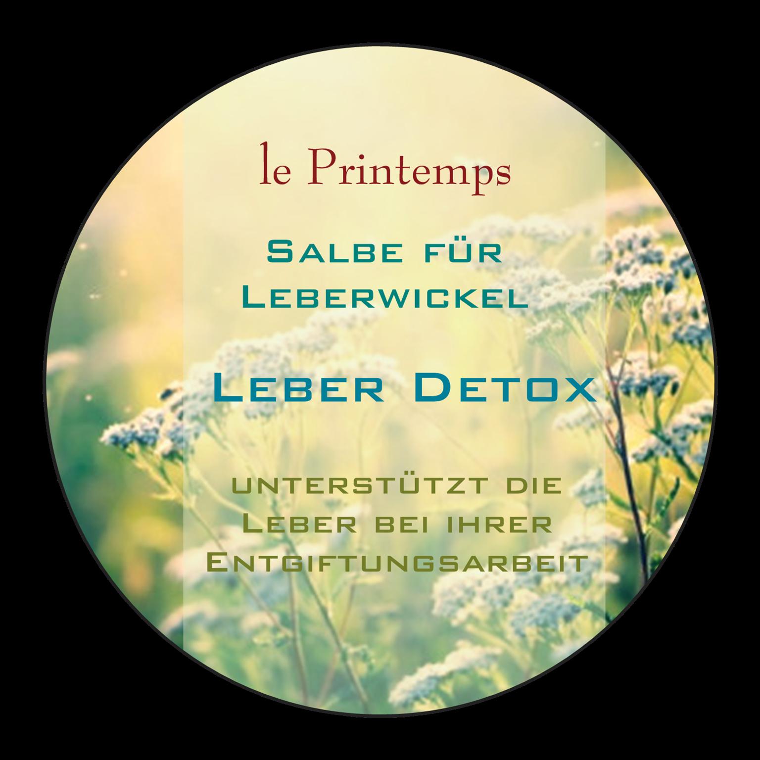 Le Printemps Leber Detox