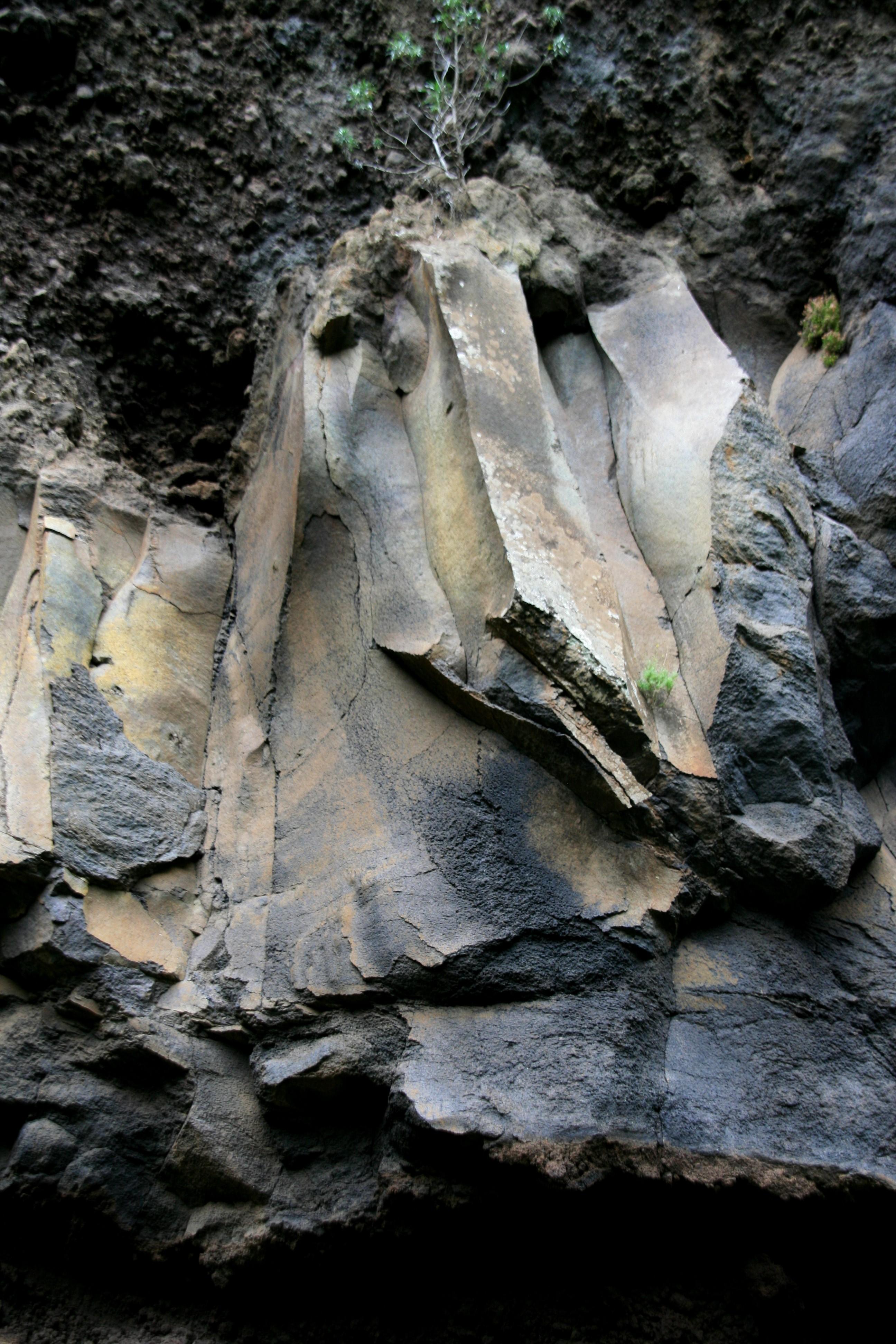 Die alten Wesenheiten im Barranco de Gallegas